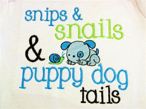 snips and snails and puppy tails snips and snails and puppy tails shirt