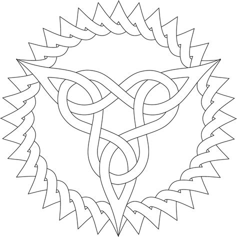 triangle pattern coloring page free coloring pages of patterns easy