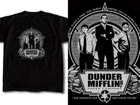 The Tshirt 01 t shirt design the office 01 by robduenas on deviantart