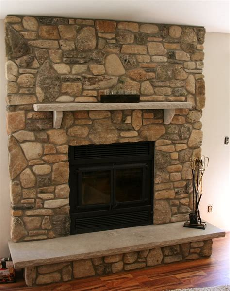 flagstone fireplace stone veneer fireplaces