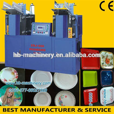 Paper Plate Machine Price - germany paper plate machine price zdj 500 buy