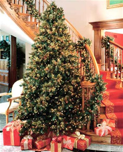 house of decor christmas tree for holiday d 233 cor