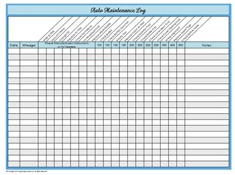 28 Images Of Fleet Maintenance Schedule Template Infovia Net Fleet Maintenance Template