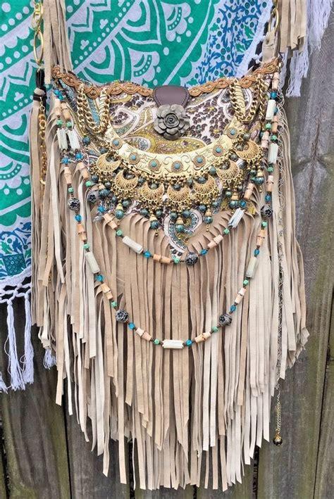 Handmade Hippie Bags - bags handbag trends handmade suede fringe