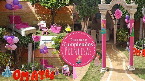 decorar casas de princesas juegos ideas para decorar cumplea 241 os tem 225 tico infantil de