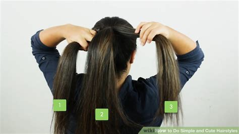 easy funeral hairstyles 5 ways to do simple and cute hairstyles wikihow