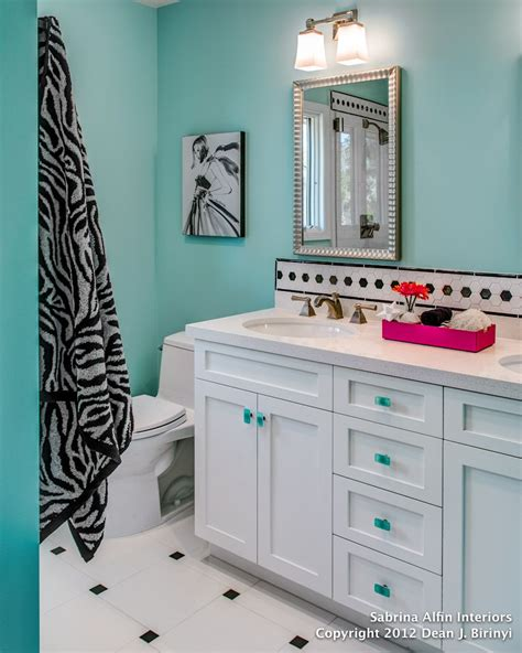 bathroom ideas for teenage girls colorful glam in a shared bath for teen sisters kids