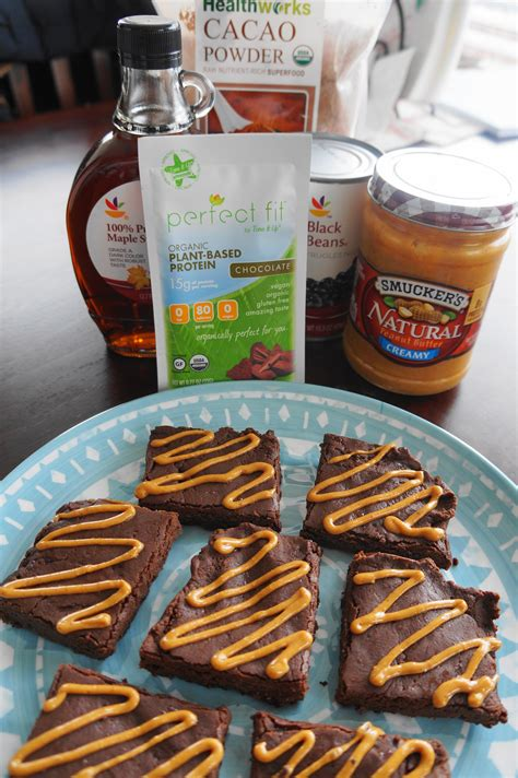 fuel to go homemade protein bars girls dish chocolate peanut butter brownie protein bars v gf