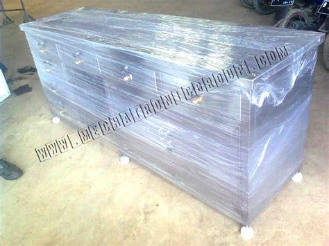 Meja Komputer Stainless jasa produksi atau pembuatan meja ipc balsem