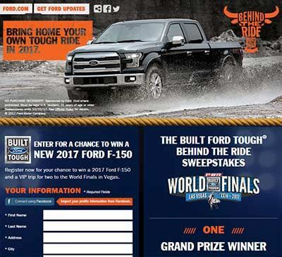 Pbr Ford Truck Giveaway - 17 best images about sweepstakes and contests on pinterest black friday deals