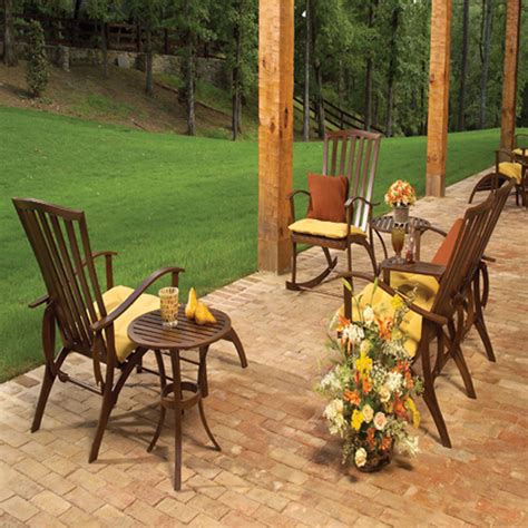 Summer Cottage Wrought Aluminum Deep Seating Patio Set By Cottage Patio Furniture