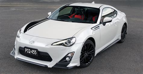toyota 86 blackline on sale in australia 37 990 trd