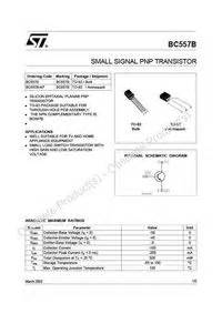 bc557 transistor working pdf bc557 datasheet equivalent cross reference search transistor catalog