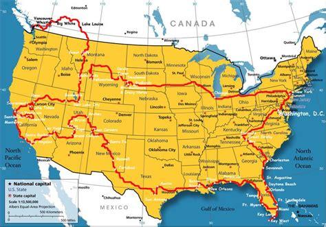 national park map usa yellowstone map usa my