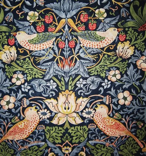 william morris curtains uk william morris strawberry thief indigo mineral curtain