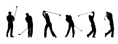 golf swing animation animated golfer images reverse search