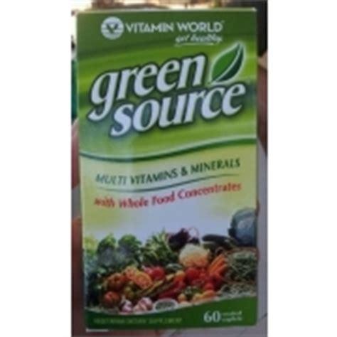 Multi Vitamins Children Green World Multivitamin Green World vitamin world green source multi vitamins minerals dietary supplement calories nutrition
