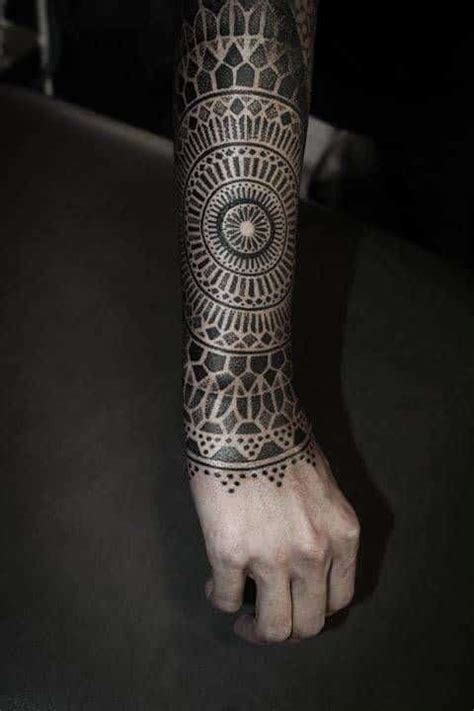 mandala tattoos for men ideas and designs for guys