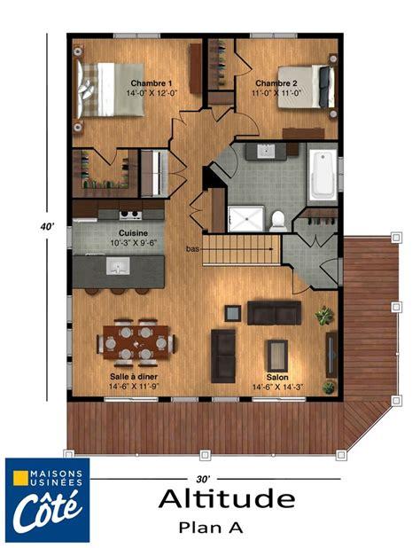 Tiney House Plans by Altitude 187 Maisons Usin 233 Es C 244 T 233 Plans Maison Pinterest