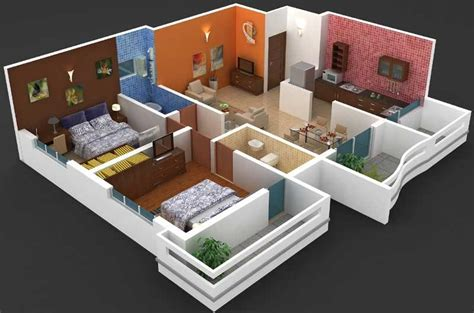 home interior design for 2bhk flat 2 bhk flat interior design photos