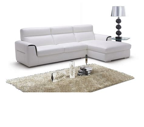 Contemporary Italian Leather Sectional Sofas Dreamfurniture 947 Modern Italian Leather Sectional Sofa