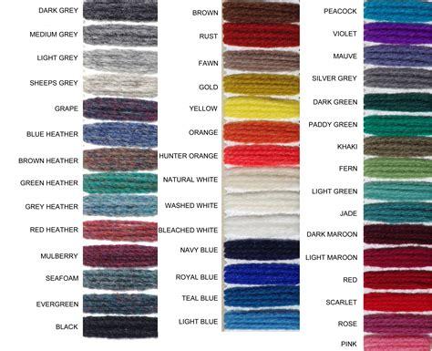 yarn color chart variegated wool knitting yarns wool knitting yarn from briggs