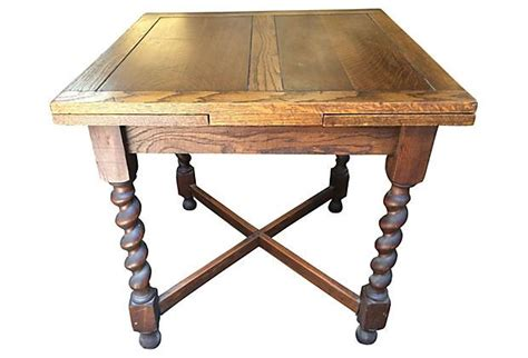 Expandable Bistro Table Oak Expandable Dining Table On Onekingslane Described By Meyer Ltd Pub