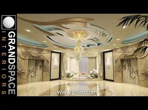 interior design of luxurious palaces villas in uae