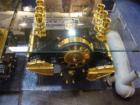 Motor Table by These Engine Block Tables Are Absolutely Awesome