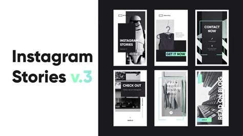 Instagram Stories V 3 After Effects Templates Motion Array Instagram Story Template After Effects