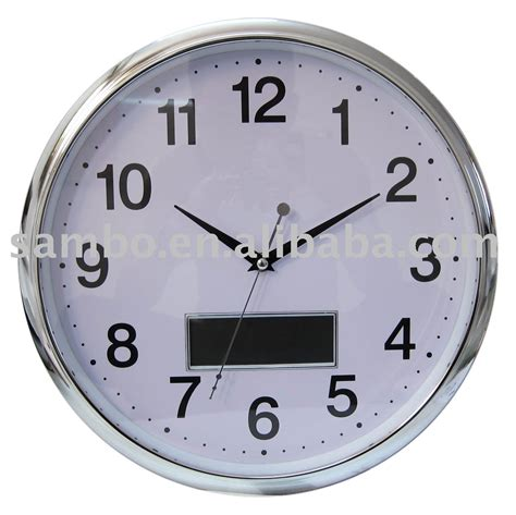 horloge murale avec date et jour num 233 rique horloge murale avec jour affichage de la date horloge murale id de produit 374622703