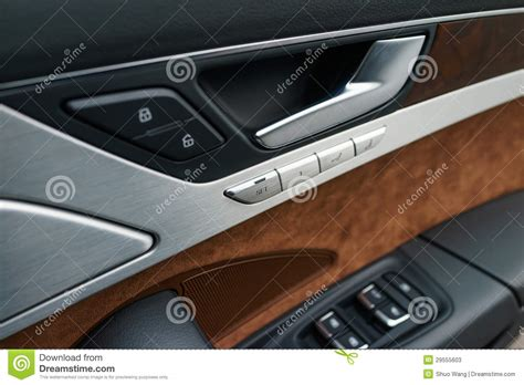 auto upholstery door panels interior panel of car door stock photos image 29555603