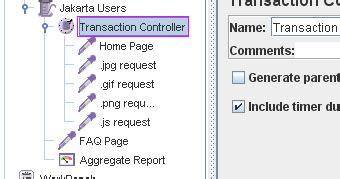 transaction script pattern java exle how to use apache jmeter quot transaction controller quot to get