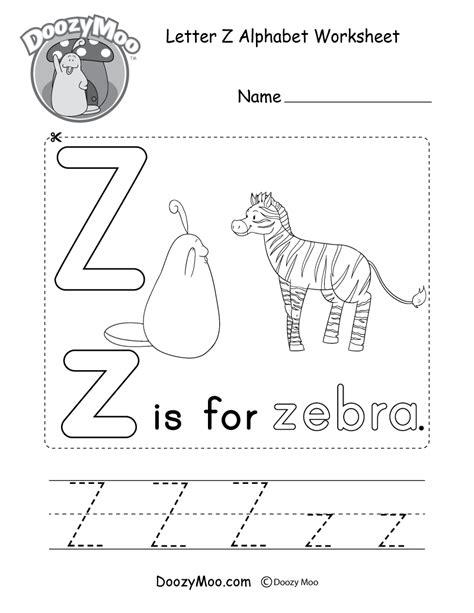 heet letter z worksheet worksheet worksheet uppercase letter z tracing worksheet doozy moo Work