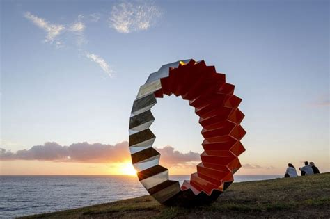 designboom sculpture by the sea sculpture by the sea world s largest open air exhibition