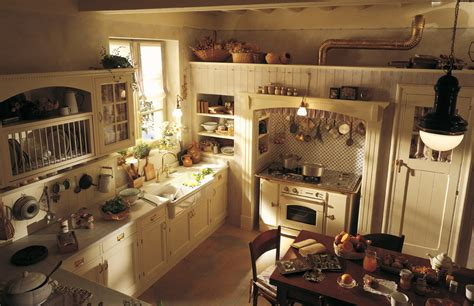 country chic kitchen by marchi cucine