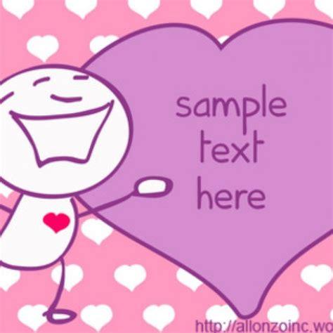 doodle romantis doodle card 2 vector free