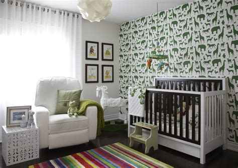Brilliant ikea baby furniture nursery contemporary with accent wall wallpaper
