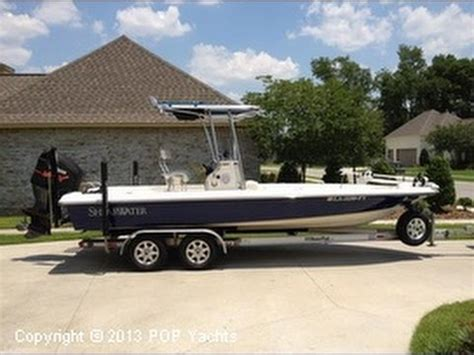 shearwater boats youtube unavailable used 2006 shearwater z2200 in baton rouge