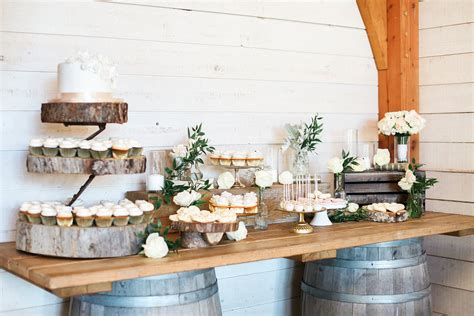 how to create a rustic dessert table for your barn wedding beautiful rustic pastel hued wedding at the stunning birds