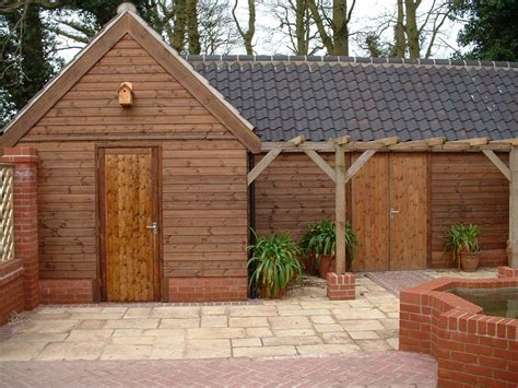 garages by custom made wooden buildings office studios and workshops by custom made wooden buildings