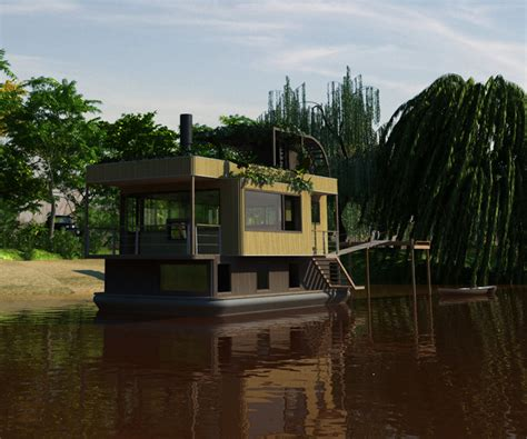 amazing house boats amazing houseboats that you will really love 10