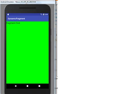 android layout placeholder how to add 2 fragments dynamically in a single layout