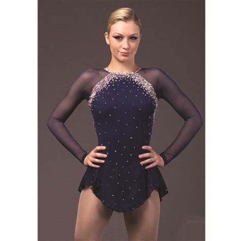 Marina Longdress Bisa Custom aliexpress buy custom figure skating dress