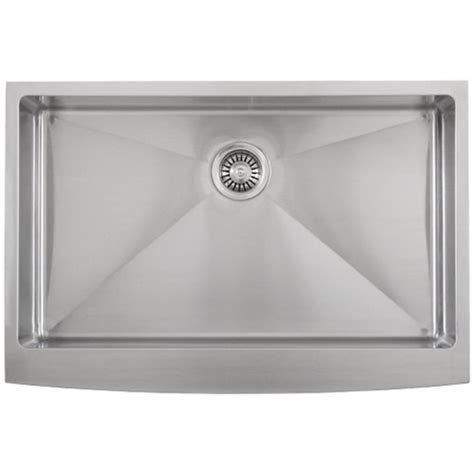 ticor s4413 33 quot farmhouse 16 g stainless steel kitchen sink