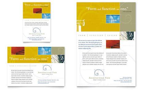ad architectural design flyers architecture design templates designs