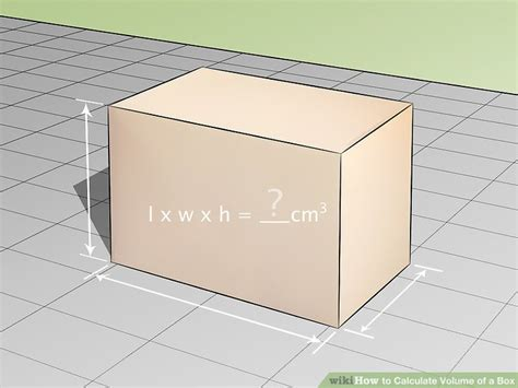l in a box how to calculate volume of a box 9 steps with pictures