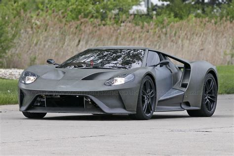 first sighting 2016 ford gt hits the road by car magazine