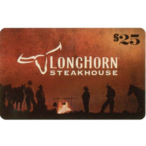 Steakhouse Gift Cards - longhorn steakhouse gift card