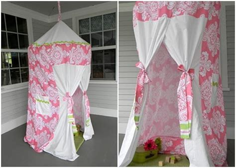 Play Tent   10 Clever Ways to Reuse Hula Hoops   DIY